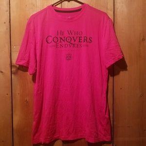 Pink NIKE Dri-fit tshirt